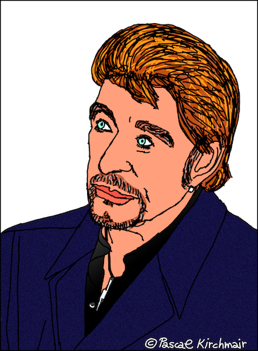Cartoon: Johnny Hallyday (medium) by Pascal Kirchmair tagged johnny,hallyday,smet,caricature,portrait,drawing,illustration,karikatur,cartoon,rock,roll,legende,france,vignetta,dibujo,desenho,disegno,dessin,zeichnung,retrato,ritratto,cartum,portret,johnny,hallyday,smet,caricature,portrait,drawing,illustration,karikatur,cartoon,rock,roll,legende,france,vignetta,dibujo,desenho,disegno,dessin,zeichnung,retrato,ritratto,cartum,portret