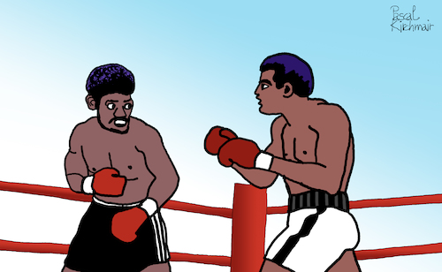 Muhammed Ali vs. Leon Spinks