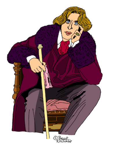 Cartoon: Oscar Wilde (medium) by Pascal Kirchmair tagged oscar,wilde,retrato,dibujo,caricatura,cartoon,caricature,cartum,tekening,portrait,karikatur,ilustracion,drawing,illustration,pascal,kirchmair,illustratie,ilustracao,portret,illustrazione,ritratto,desenho,disegno,wacom,cintiq,21ux,ritning,teckning,oscar,wilde,retrato,dibujo,caricatura,cartoon,caricature,cartum,tekening,portrait,karikatur,ilustracion,drawing,illustration,pascal,kirchmair,illustratie,ilustracao,portret,illustrazione,ritratto,desenho,disegno,wacom,cintiq,21ux,ritning,teckning