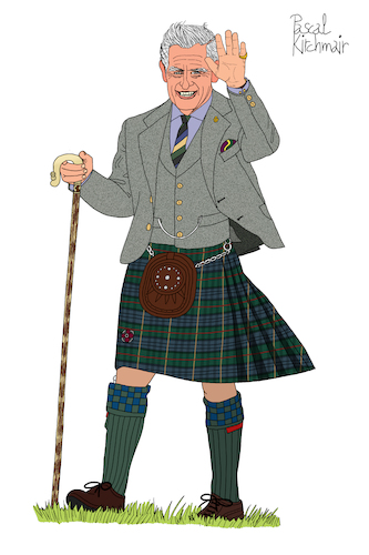 Cartoon: Prince Charles (medium) by Pascal Kirchmair tagged prince,of,wales,prinz,charles,windsor,kilt,highlands,schottland,scotland,dibuix,illustration,drawing,zeichnung,pascal,kirchmair,cartoon,caricature,karikatur,ilustracion,dibujo,desenho,ink,disegno,ilustracao,illustrazione,illustratie,dessin,de,presse,du,jour,art,the,day,tekening,teckning,cartum,vineta,comica,vignetta,caricatura,portrait,porträt,portret,retrato,ritratto,england,great,britain,prince,of,wales,prinz,charles,windsor,kilt,highlands,schottland,scotland,dibuix,illustration,drawing,zeichnung,pascal,kirchmair,cartoon,caricature,karikatur,ilustracion,dibujo,desenho,ink,disegno,ilustracao,illustrazione,illustratie,dessin,de,presse,du,jour,art,the,day,tekening,teckning,cartum,vineta,comica,vignetta,caricatura,portrait,porträt,portret,retrato,ritratto,england,great,britain