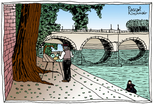 The Pont-Neuf painter