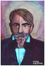 Cartoon: Arthur Schnitzler (small) by Pascal Kirchmair tagged arthur,schnitzler,wiener,moderne,portrait,retrato,ritratto,caricature,karikatur,zeichnung,drawing