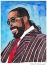 Cartoon: Barry White (small) by Pascal Kirchmair tagged barry eugene white let the music play cartoon caricature karikatur portrait retrato ritratto vineta comica vignetta cartum portret porträt usa los angeles drawing dibujo desenho disegno dessin zeichnung illustration ilustracion ilustracao singer pop musik soul songwriter composer funk disco song grammy award