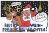 Cartoon: Besoffener Weihnachtsmann (small) by Pascal Kirchmair tagged festtage,buon,natale,frohe,weihnachten,feliz,navidad,ivre,drunk,boozy,besoffener,weihnachtsmann,elch,rudi,rudolf,rudolph,reindeer,rentier,elk,moose,santa,claus,pere,noel,father,xmas,christmas