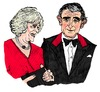 Cartoon: Charles and Camilla (small) by Pascal Kirchmair tagged duchess of cornwall windsors britisches königshaus house windsor royal monarchy british prinz prince charles camilla parker bowles