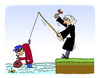 Cartoon: Crime and Punishment (small) by Pascal Kirchmair tagged strafe justizvollzug crime criminel punition juge judge
