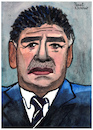 Cartoon: Diego Armando Maradona (small) by Pascal Kirchmair tagged diego armando maradona caricature caricatura karikatur portrait retrato drawing dibujo pascal kirchmair desenho argentina ritratto disegno zeichnung aquarell watercolour watercolor tekening cartum cartoon illustration ilustracao ilustracion illustrazione dessin illustratie noodlers ink