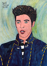 Cartoon: Elvis Presley (small) by Pascal Kirchmair tagged rockabilly fusion country musik rhythm and blues elvis aaron presley memphis tennessee januar january janvier 1935 in tupelo mississippi singer the king of rock roll pop cartoon caricature karikatur ilustracion illustration pascal kirchmair dibujo desenho drawing zeichnung disegno ilustracao illustrazione illustratie dessin de presse du jour art day tekening teckning cartum vineta comica vignetta caricatura humor humour portrait retrato ritratto portret porträt artiste artista artist usa cantautore music musique jail house love me tender nothing but hound dog no friend mine jailhouse