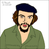 Cartoon: Ernesto Che Guevara (small) by Pascal Kirchmair tagged kuba,cuba,libre,havanna,habana,havana,la,avana,ernesto,che,guevara,caricatura,karikatur,portrait,retrato,dibujo,drawing,illustration,cartoon,cartum,dessin,ritratto,porträt,caricature,zeichnung,desenho,disegno,ilustracion,illustrazione,ilustracao