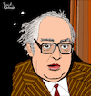 Cartoon: Friedrich Dürrenmatt (small) by Pascal Kirchmair tagged friedrich,dürrenmatt,olten,pascal,kirchmair,caricature,dibujo,drawing,dessin,zeichnung,illustration,ilustracion,ilustracao,disegno,karikatur,karikatür,cartoon,portrait,porträt,retrato,ritratto,schweiz,bern,illustratie,konolfingen,neuenburg,neuchatel,stalden,im,emmental,der,richter,und,sein,henker,die,physiker,besuch,alten,dame