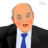 Cartoon: Gregor Gysi (small) by Pascal Kirchmair tagged ddr pds sed wende berlin die linke gregor gysi politicien politiker politician homme politique dibuix illustration drawing zeichnung pascal kirchmair political cartoon caricature karikatur ilustracion dibujo desenho ink disegno ilustracao illustrazione illustratie dessin de presse du jour art of the day tekening teckning cartum vineta comica vignetta caricatura portrait porträt portret retrato ritratto