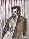 Cartoon: Helmut Dietl (small) by Pascal Kirchmair tagged helmut dietl karikatur aquarell cartoon portrait caricature