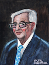 Cartoon: Jean-Claude Juncker (small) by Pascal Kirchmair tagged jean,claude,juncker,caricature,portrait,retrato,karikatur,ritratto,porträt,pascal,kirchmair,dibujo,desenho,disegno,eu,ue,luxembourg,president,präsident,europe,europa,dessin,drawing,zeichnung,portret,cartum,cartoon,watercolour,aquarell,painting,peinture,pintura,dipinto,cuadro,quadro