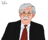 Cartoon: John Bolton (small) by Pascal Kirchmair tagged john,bolton,usa,cartoon,caricature,karikatur,ilustracion,illustration,pascal,kirchmair,dibujo,desenho,drawing,zeichnung,disegno,ilustracao,illustrazione,illustratie,dessin,de,presse,du,jour,art,of,the,day,tekening,teckning,cartum,vineta,comica,vignetta,caricatura,humor,humour,political,portrait,retrato,ritratto,portret,porträt