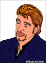 Cartoon: Johnny Hallyday (small) by Pascal Kirchmair tagged johnny hallyday smet caricature portrait drawing illustration karikatur cartoon rock roll legende france vignetta dibujo desenho disegno dessin zeichnung retrato ritratto cartum portret