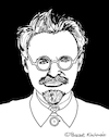 Cartoon: Leo Trotzki (small) by Pascal Kirchmair tagged leo,trotzki,leon,trotsky,trotski,portrait,retrato,ritratto,cartoon,caricature,karikatur,dibujo,porträt,desenho,dessin,zeichnung,drawing,illustration,pascal,kirchmair