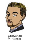Cartoon: Leonardo DiCaprio (small) by Pascal Kirchmair tagged leonardo,dicaprio,cartoon,caricature,karikatur,vignetta,dessin,zeichnung