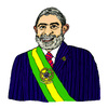 Cartoon: Luiz Inacio Lula da Silva (small) by Pascal Kirchmair tagged politiker politician politicien brasil brasile bresil brazil luiz inacio lula da silva brasilien präsident karikatur caricature cartoon