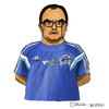 Cartoon: Marcelo Bielsa (small) by Pascal Kirchmair tagged el loco argentina argentinien fußball trainer manager foot football soccer marcelo bielsa cartoon caricature karikatur portrait
