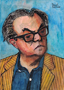 Cartoon: Max Frisch (small) by Pascal Kirchmair tagged max,frisch,karikatur,cartoon,portrait,retrato,dibujo,drawing,zeichnung,pascal,kirchmair,caricature,novelist,autor,schriftsteller,playwright,ilustracion,illustration,ilustracao,illustratie,illustrazione,tekening,teckning,desenho,disegno,dessin,ritratto,homo,faber,andorra,biedermann,und,die,brandstifter,stiller,mein,name,sei,gantenbein