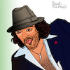 Cartoon: Rachid Taha (small) by Pascal Kirchmair tagged rachid taha singer songwriter pop cartoon caricature karikatur ilustracion illustration pascal kirchmair dibujo desenho drawing zeichnung disegno ilustracao illustrazione illustratie dessin de presse du jour art of the day tekening teckning cartum vineta comica vignetta caricatura humor humour portrait retrato ritratto portret porträt artiste artista artist algeria algerien algerie argelia sig paris france frankreich rai arnold chiari disease