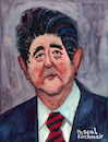Cartoon: Shinzo Abe (small) by Pascal Kirchmair tagged shinzo abe karikatur prime minister japan japon japao cartoon portrait drawing retrato illustration ilustracion caricature pascal kirchmair zeichnung dibujo desenho dessin ilustracao ritratto