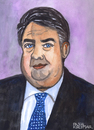 Cartoon: Sigmar Gabriel (small) by Pascal Kirchmair tagged sigmar,gabriel,karikatur,caricature,portrait,cartoon,germany,deutschland,allemagne,politiker,spd,politician