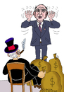 Cartoon: Stephane Hessel (small) by Pascal Kirchmair tagged occupy wallstreet bewegung stephane hessel empört euch indignez vous caricature karikatur kapitalismus kritik