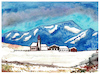 Cartoon: Tiroler Bergdorf (small) by Pascal Kirchmair tagged winter,alpine,tiroler,bergdorf,winterlandschaft,tyrolean,landscape,paysage,hiver,tyrolien,watercolour,aquarell,paesaggio,tirolese,inverno,paisaje,tiroles,invierno,paisagem,mountain,mountains,gebirge,berge,gemälde,painting,peinture,pittura,pintura,dipinto,alpen,dibuix,illustration,drawing,zeichnung,pascal,kirchmair,ilustracion,dibujo,desenho,disegno,ilustracao,illustrazione,illustratie,dessin,du,jour,art,of,the,day,tekening,teckning,watercolor,aquarelle,acquerello,acquarella,acuarela,aguarela,aquarela,alps,alpes,alpi,bild,cuadro,quadro,picture,artwork,arte,kunst,abstract,abstrait,abstrakte,malerei,astrattto,abstracto,abstrato,alpin,alpenlandschaft,landschaft,montanhosa,alpino,paese,villaggio,di,montagna,aldea,pueblo,austria,austriaco,autriche,österreich