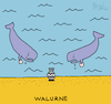 Cartoon: Walurne (small) by Pascal Kirchmair tagged walfische,walfisch,wal,walurne,urne,urnenbestattung,schwarzer,humor,witz,humour,umorismo,humorous,spirito,illustration,drawing,zeichnung,pascal,kirchmair,political,cartoon,caricature,karikatur,ilustracion,dibujo,desenho,ink,disegno,ilustracao,illustrazione,illustratie,dessin,de,presse,tekening,teckning,cartum,vineta,comica,vignetta,caricatura