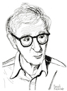 Cartoon: Woody Allen (small) by Pascal Kirchmair tagged woody allen portrait retrato drawing illustration zeichnung ilustracion ilustracao dibujo desenho dessin disegno pascal kirchmair illustratie illustrazione tekening teckning ritratto
