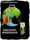 Cartoon: Our Canvas (small) by kar2nist tagged cartoonists,cartoon,world