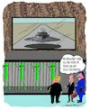 Cartoon: Trumps Fatwa (small) by kar2nist tagged trump,immigration,rules,alien