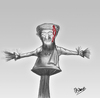 Cartoon: ben Laden (small) by Majdoub Abdelwaheb tagged ben,laden