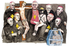 Cartoon: Glaubensbrueder (small) by Niessen tagged pedofilia church religion pope priests children violence