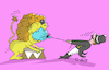 Cartoon: circus (small) by mitya_kononov tagged mityacartoon,circus