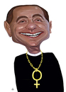 Cartoon: BERLUSCONI (small) by drljevicdarko tagged berlusconi