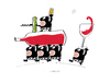 Cartoon: Sawine (small) by Herme tagged wine,bar,pub