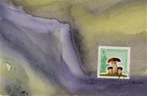 Cartoon: Climate change 2 (medium) by Kestutis tagged climate,change,dada,postcard,mushroom,kestutis,lithuania,nature