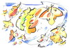 Cartoon: AUTUMN PROFILES (small) by Kestutis tagged autumn herbst history art