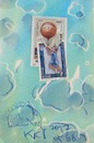 Cartoon: Basketball. DADA Sports (small) by Kestutis tagged bnasketball,sports,dada,postcard,mail,art,kestutis,lithuania