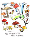 Cartoon: CHEFS SENTENCE (small) by Kestutis tagged chef,sentence,turtle,pirate,kestutis,siaulytis,lithuania,mushrooms,pilze,adventure,lebensmittel,food,kitchen,cook