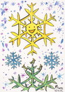Cartoon: Christmas morning sun (small) by Kestutis tagged weihnachten christmas smile sun snowflake bird nature winter kestutis