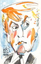 Cartoon: Donald Trump (small) by Kestutis tagged donald,trump,kestutis,lithuania,usa,election,president,america,clinton