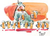 Cartoon: Festive norm (small) by Kestutis tagged oktoberfest,beer,bier,kestutis,lithuania