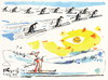 Cartoon: Olympic Winter has come (small) by Kestutis tagged olympic winter has come penguins sports nature bird snow sochi 2014 kestutis lithuania skiing sun