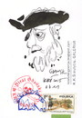Cartoon: Pirat Gdanski (small) by Kestutis tagged dada,postcard,sketch,pirate,kestutis,lithuania,gdansk