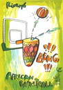 Cartoon: Rio. African basketball (small) by Kestutis tagged basketball,olympics,2016,sports,summer,rio,brazil,games,africa