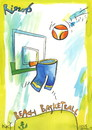 Cartoon: Rio. Beach basketball (small) by Kestutis tagged beach,basketball,olympics,2016,sports,rio,brazil,games,kestutis,lithuania