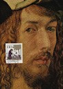 Cartoon: Sermon to Birds and A.Dürer (small) by Kestutis tagged dürer,albrecht,dada,postcard,kestutis,lithuania,kunst,art